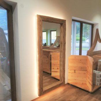 Holztüre Holzboden Lohninger