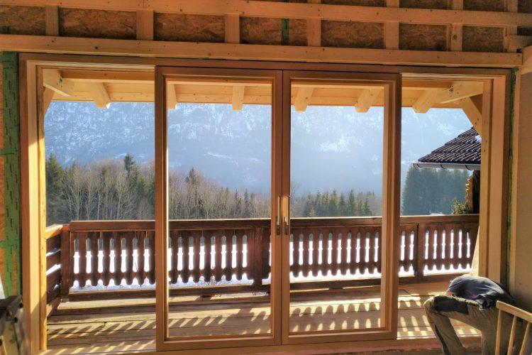 Mehrflüglige Fenster Türen Holz Massiv